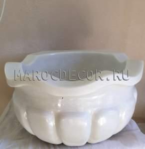 Мраморная курна для хамама арт.КР-02
