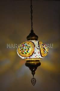 Турецкий мозаичный светильник арт. НМ-035, восточный магазин шоу рум