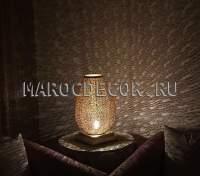 Марокканская ажурная лампа, картинка Марокдекор