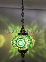 Турецкий мозаичный светильник арт.НМ-035Т/б, салон-магазин восточных светильников