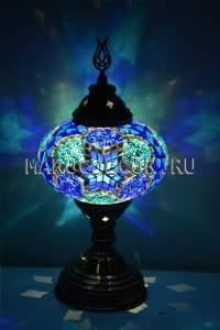 Турецкая мозаичная лампа арт.TM-015/б