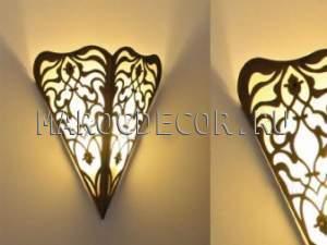 Светильник латунный для хамама арт.W-141G