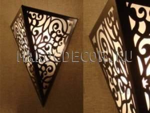 Светильник для хамама арт. W-075