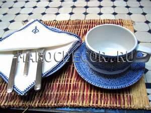 Чайная пара (чашка и блюдце) арт. CER-08
