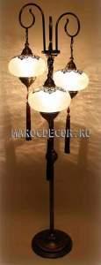 Торшер  лампа в восточном стиле арт.ОС-3/22