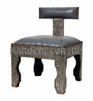 Марокканский деревянный стул-пуф арт. SH-10