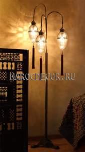 Лампа напольная-торшер арт.F-187/3