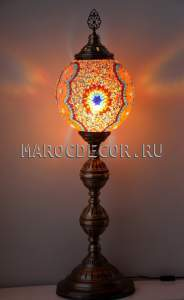 Восточная лампа-торшер арт.FM-S-MS130-2