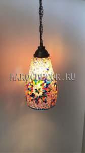 Мозаичный подвесной светильник арт.SM-02