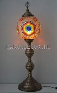 Восточный мозаичный напольный светильник арт.FM-S-MS130-5