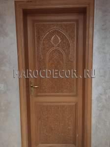 Марокканская резная дверь арт.MD-40