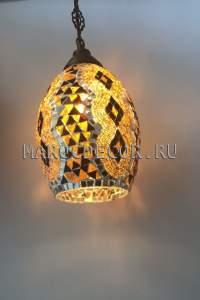Мозаичный подвесной светильник арт.SM-03