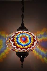 Восточный мозаичный светильник арт. НМ-032Т/n, шоу рум восточных светильников