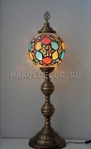 Напольная лампа торшер в восточном стиле арт.FM-S-MS130-1