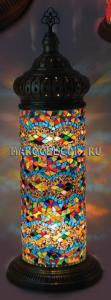 Мозаичная лампа-торшер в восточном стиле арт.CYM-2050