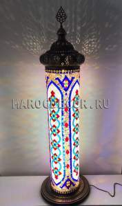 Мозаичный светильник-торшер, марокдекор