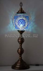 Восточный мозаичный светильник-торшер арт.FM-S-MS130-3