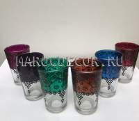 Марокканские стаканчики для чая арт.Verre-11