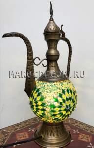 Восточная мозаичная лампа арт.EWR-215