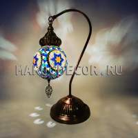 Светильник настольный турецкая мозаика арт.TAE-14