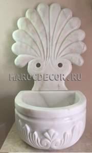 Мраморная курна для хамама арт. KURNA-05