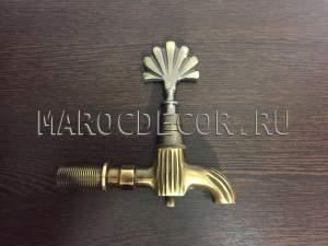 ВОСТОЧНЫЙ турецкий кран арт.KR-02, золото