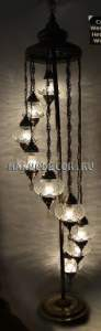 Восточная лампа-торшер арт. LAC-619