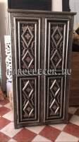 Марокканский шкаф с чеканкой и костью арт.PLC-10