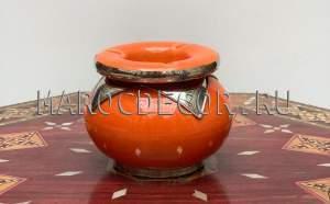 Марокканская керамическая пепельница арт.Сеn-24, МарокДекор