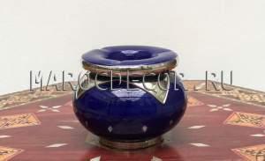 Марокканская керамическая пепельница арт.Сеn-25, МарокДекор