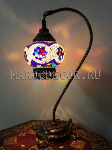 Турецкая мозаичная лампа арт.SWM-114