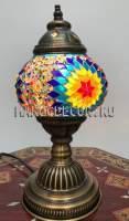 Турецкая мозаичная лампа арт.TAB-212