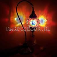 Турецкая лампа Мозаика арт.SWM-125, оранжевая