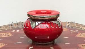 Марокканская керамическая пепельница арт.Сеn-23, в наличии