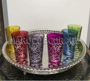 Марокканские стаканчики для чая арт.Verre-9