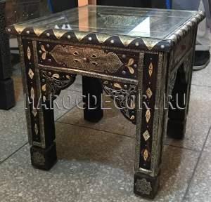 Марокканский столик из кедра арт.TB-90, марокдекор