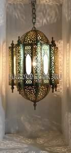 Марокканский фонарь арт.Lant-103, ручная работа