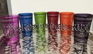 Марокканские стаканчики для чая арт.Verre-8