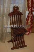 Марокканский стул ручной работы арт.SH-34
