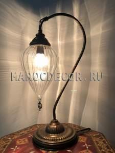 Восточная настольная лампа арт.CDE219
