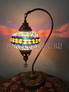 Восточная мозаичная лампа арт.TS-06