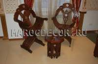 Складной стул в марокканском стиле арт.SH-33, марокдекор