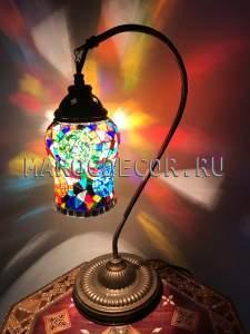 Настольная мозаичная лампа арт.SWL-06