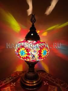Восточная мозаичная лампа арт.TA-05