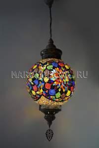 Мозаичный турецкий светильник арт.НМ-030Т/а