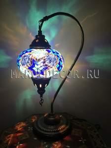 Турецкая мозаичная лампа арт.TS-02, МАРОКДЕКОР