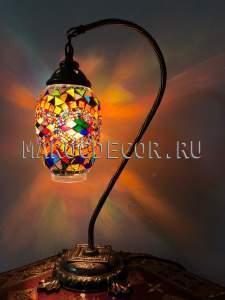 Восточная мозаичная лампа арт.ТМ-016