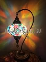 Восточная мозаичная лампа Мозаичная лампа в восточном стиле арт.TS-09