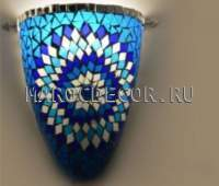 Светильник мозаика арт.MAS215в сине-голубой гамме