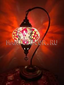 Восточная мозаичная лампа арт.TS-08